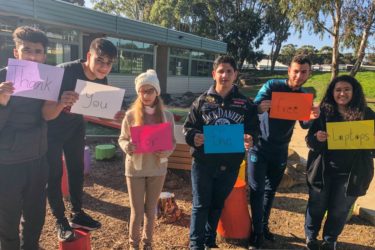 Laptops 4 Learning at Collingwood English Language School